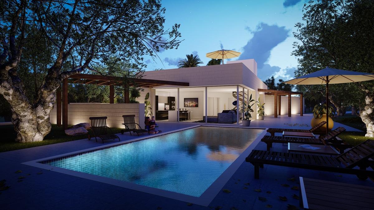 Meravigliosa villa con piscina in vendita a Carovigno Brindisi ...